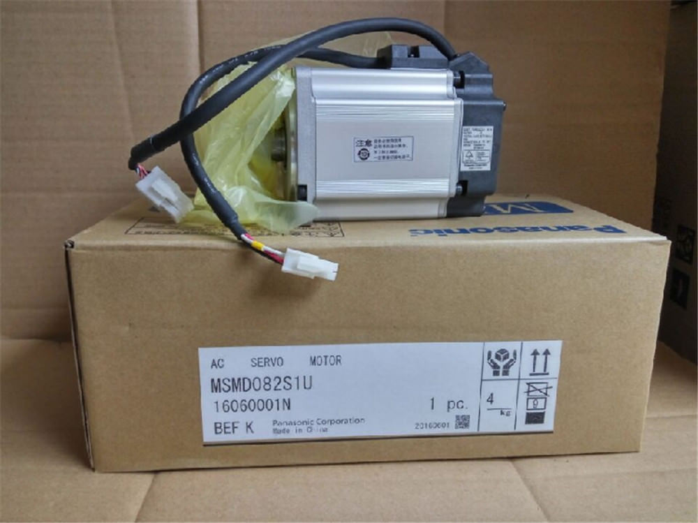 100% NEW PANASONIC AC servo motor MSMD082S1U in box