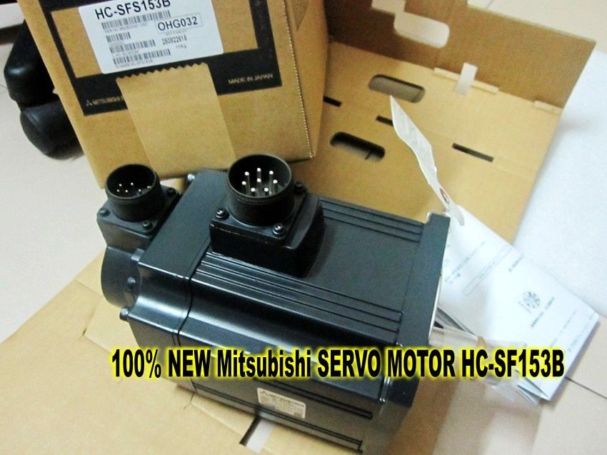100% NEW Mitsubishi SERVO MOTOR HC-SF153B in box HC-SF153B
