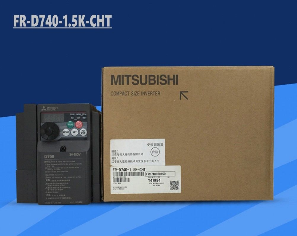 Brand New MITSUBISHI inverter FR-D740-1.5K-CHT In Box FRD7401.5KCHT