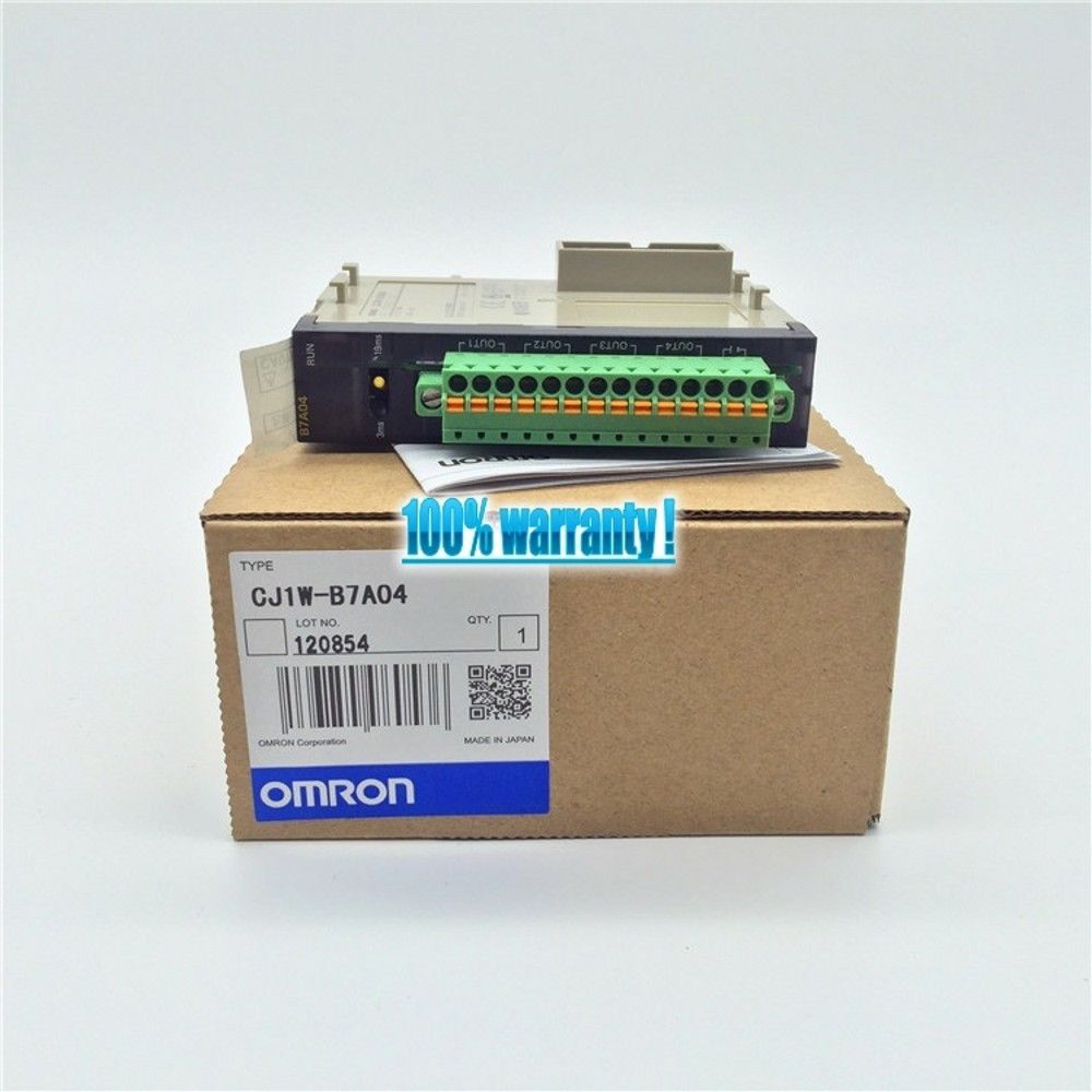 100% NEW OMRON MODULE CJ1W-B7A04 IN BOX CJ1WB7A04