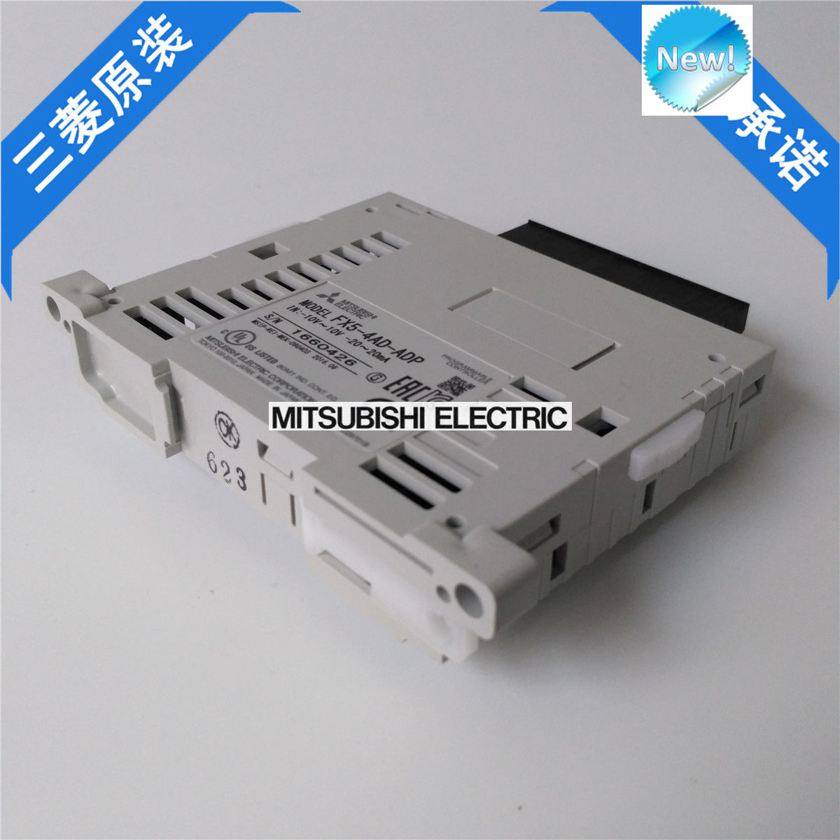 100% New Mitsubishi  PLC FX5-4AD-ADP In Box FX54ADADP