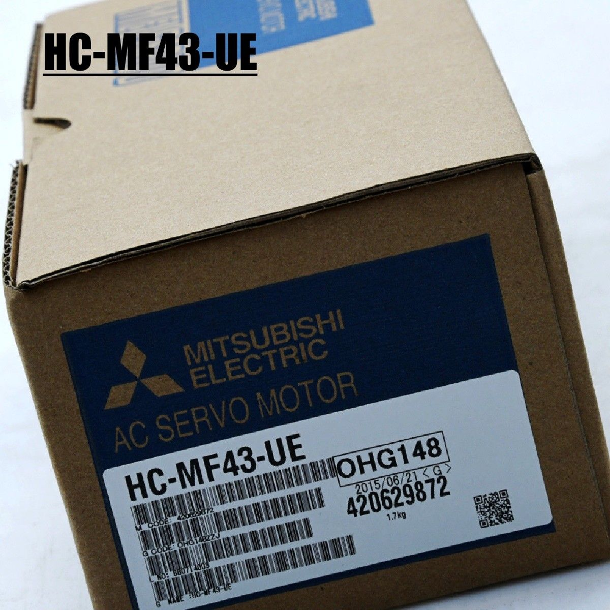 100% NEW Mitsubishi Servo Motor HC-MF43-UE IN BOX HCMF43UE