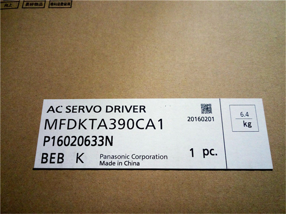 100% NEW PANASONIC AC Servo drive MFDKTA390CA1 in box