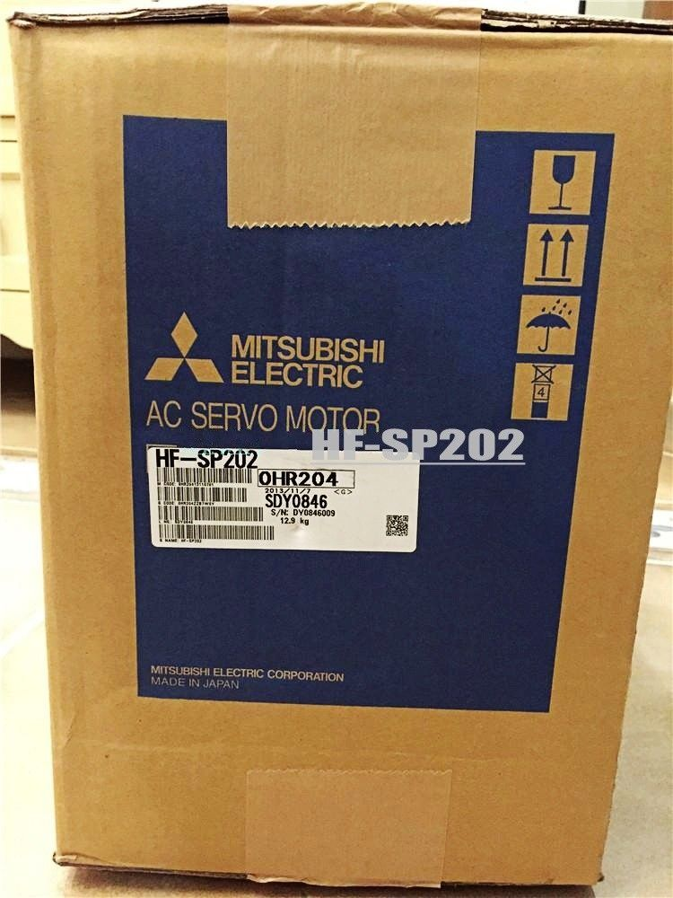 100% NEW Mitsubishi Servo Motor HF-SP202 HF-SP202B IN BOX HFSP202B