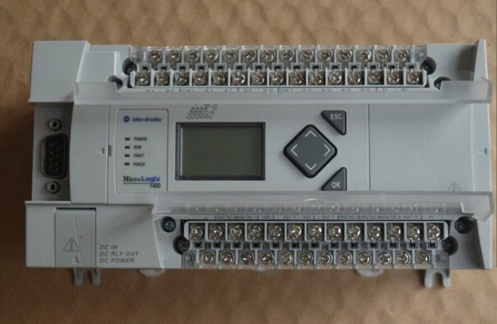 80% NEW ORIGINAL PLC MODULE 1766-L32BXB Micrologix 1400 32 Point