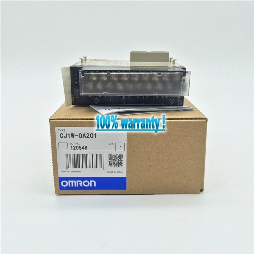 100% NEW OMRON PLC CJ1W-OA201 IN BOX CJ1WOA201