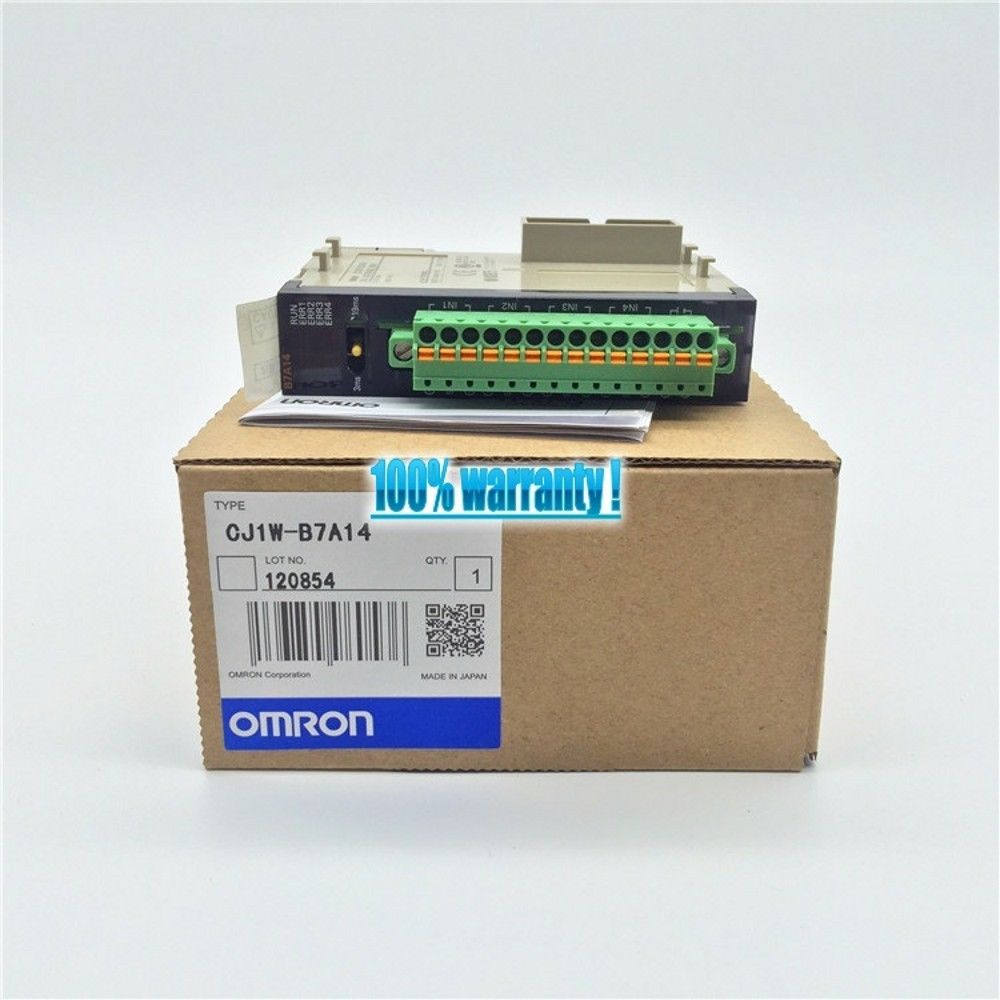 NEW OMRON MODULE CJ1W-B7A14 IN BOX CJ1WB7A14