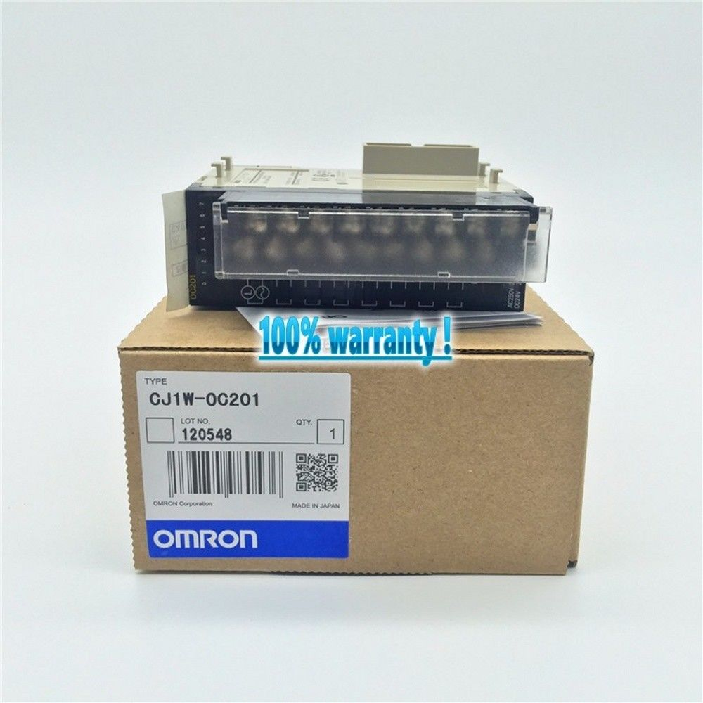 100% NEW OMRON PLC CJ1W-OC201 IN BOX CJ1WOC201