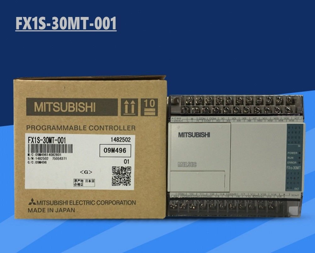 100% New MITSUBISHI PLC FX1S-30MT-001 In Box FX1S30MT001