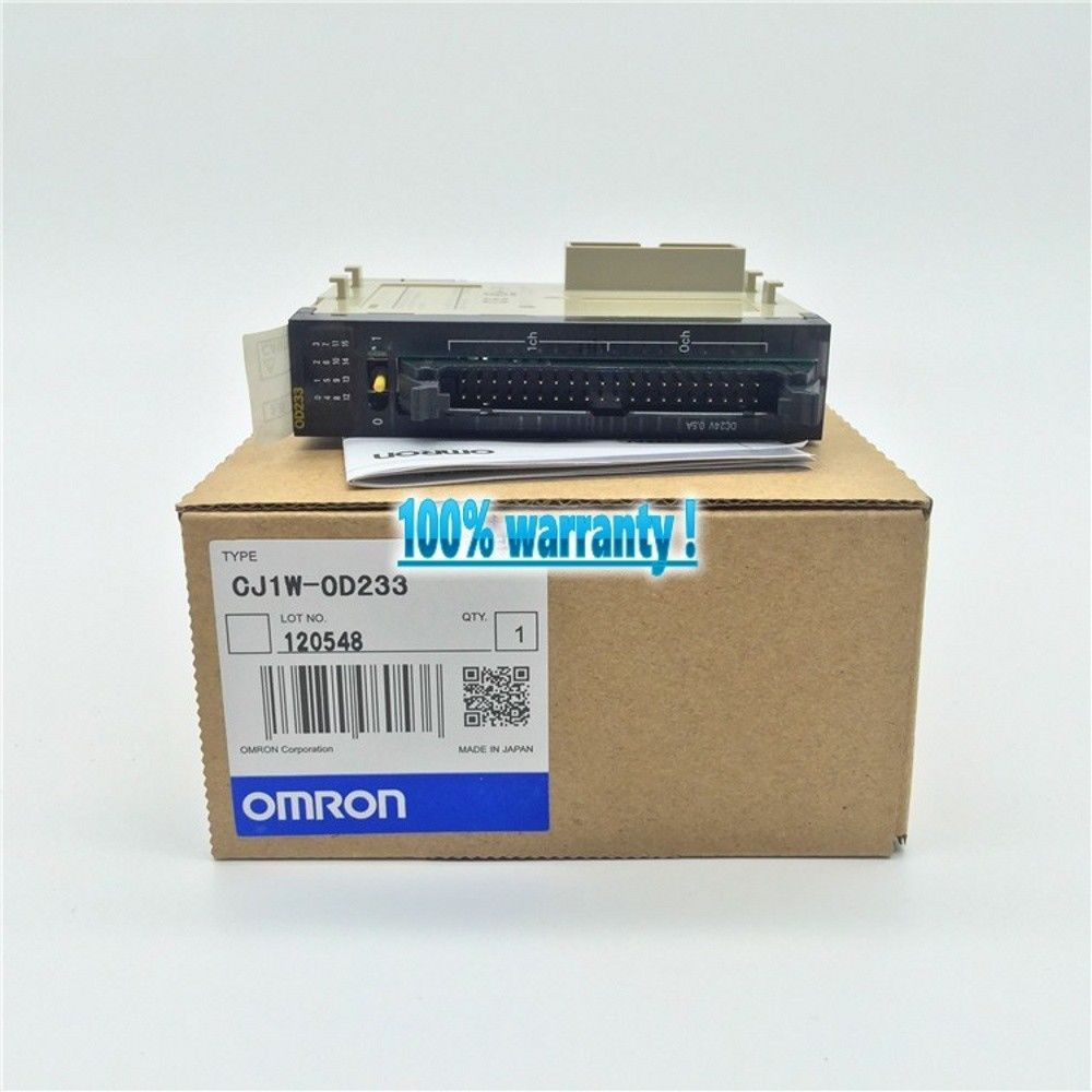 BRAND NEW OMRON PLC CJ1W-OD233 IN BOX CJ1WOD233