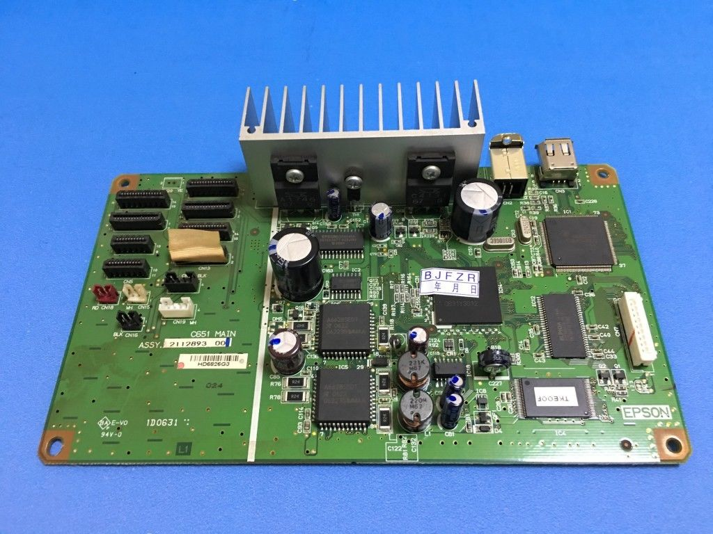 90% new main board mother board for Epson R1800 printer Full Tested