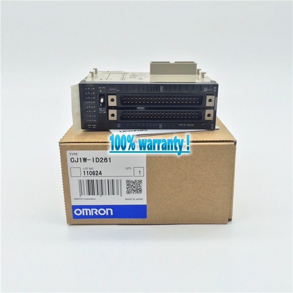 100% NEW OMRON PLC CJ1W-ID261 IN BOX CJ1WID261