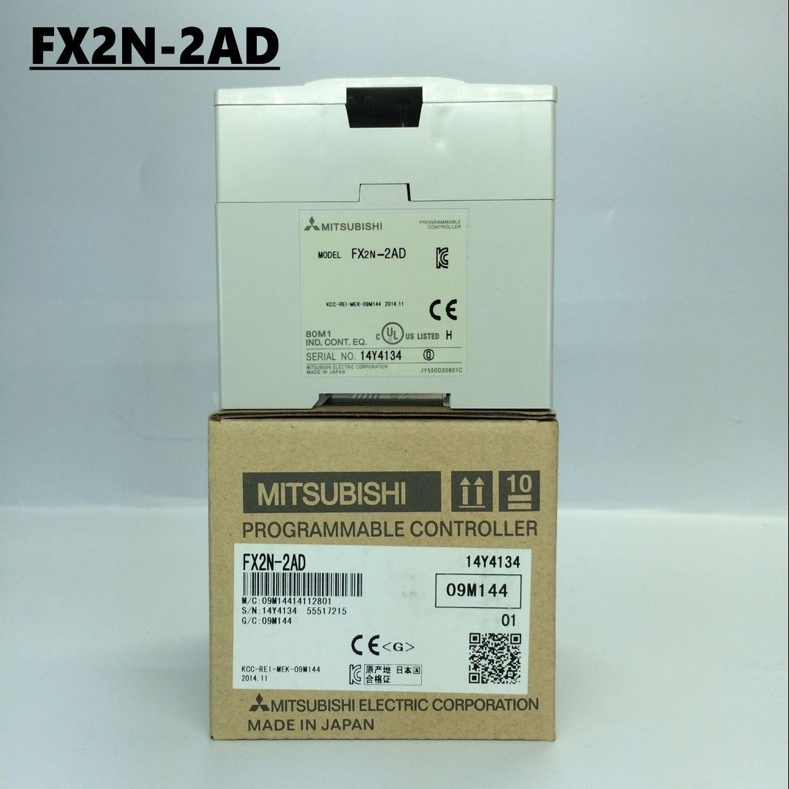 100% New MITSUBISHI PLC FX2N-2AD In Box FX2N2AD