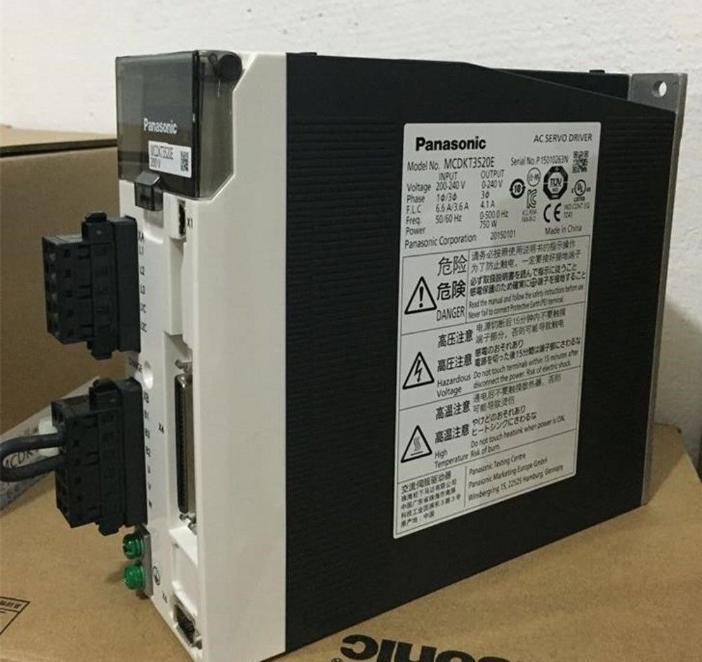 100% NEW PANASONIC AC Servo drive MCDKT3520E in box (real picture)