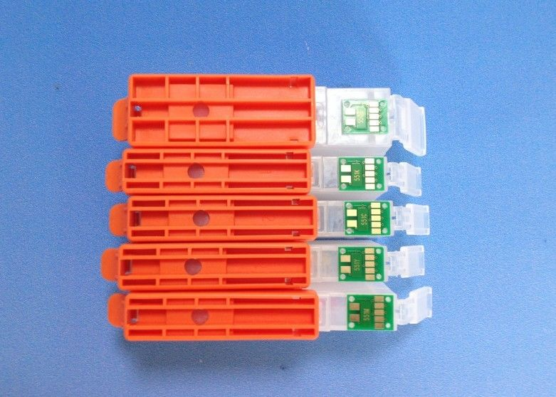PGI550 CLI551 refillable cartridge for IP7250 IP7150 MG5450 5550 6450 MX925 725