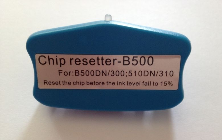 Chip resetter for EP B300/B500/B310/B510 cartridge chip and waste ink tank