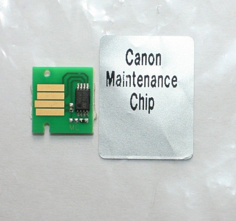 Maintenance tank chip for Canon iPF825 iPF815 iPF820 iPF810 iPF9110