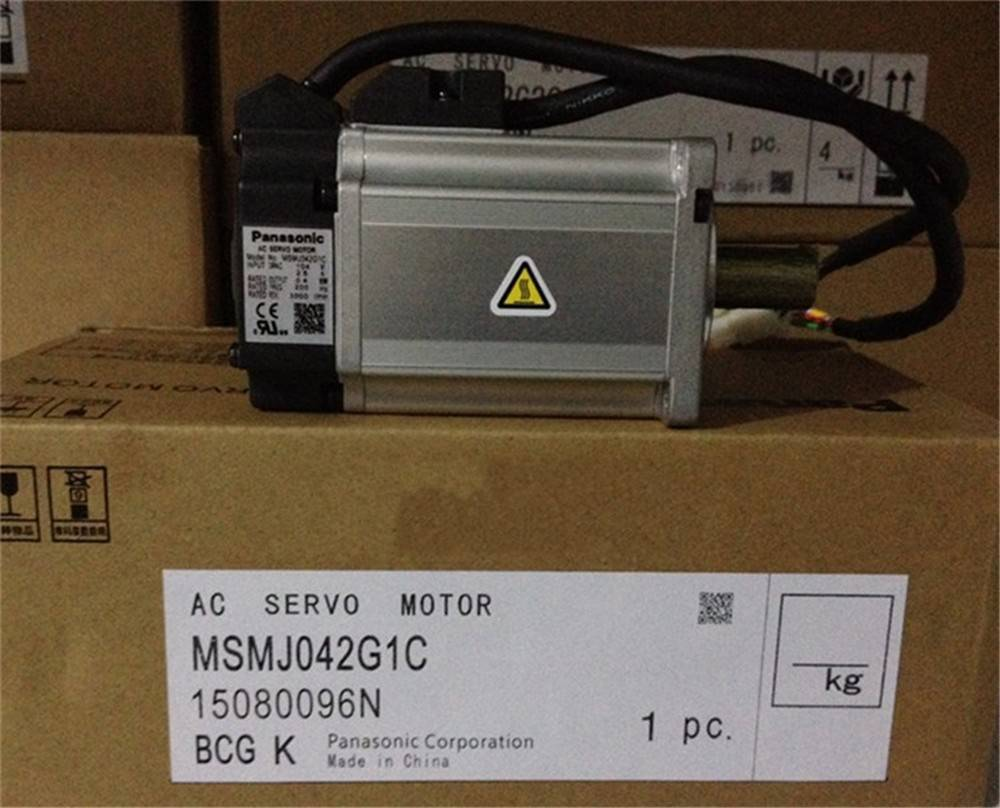 100% NEW PANASONIC AC Servo Motor MSMJ042G1C in box