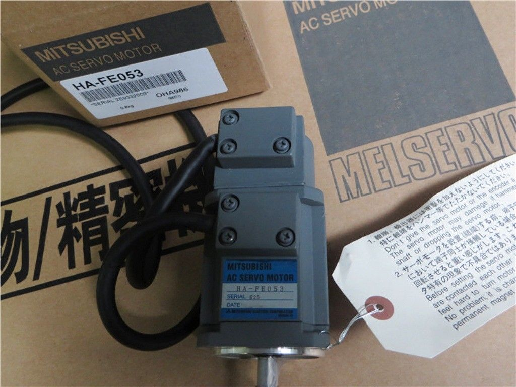 100% NEW Mitsubishi SERVO MOTOR HA-FE053 in box HAFE053