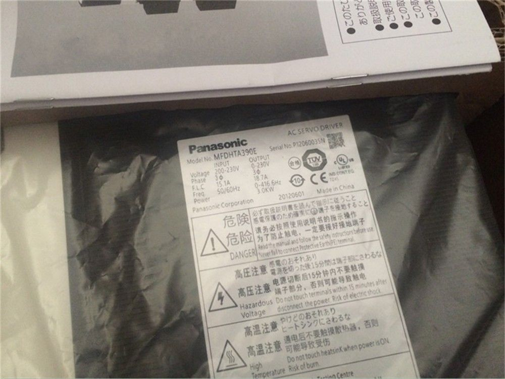 100% NEW PANASONIC AC Servo drive MFDHTA390E in box