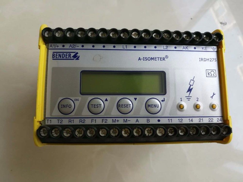 USED IRDH275-435 BENDER INSULATION MONITORING DEVICE