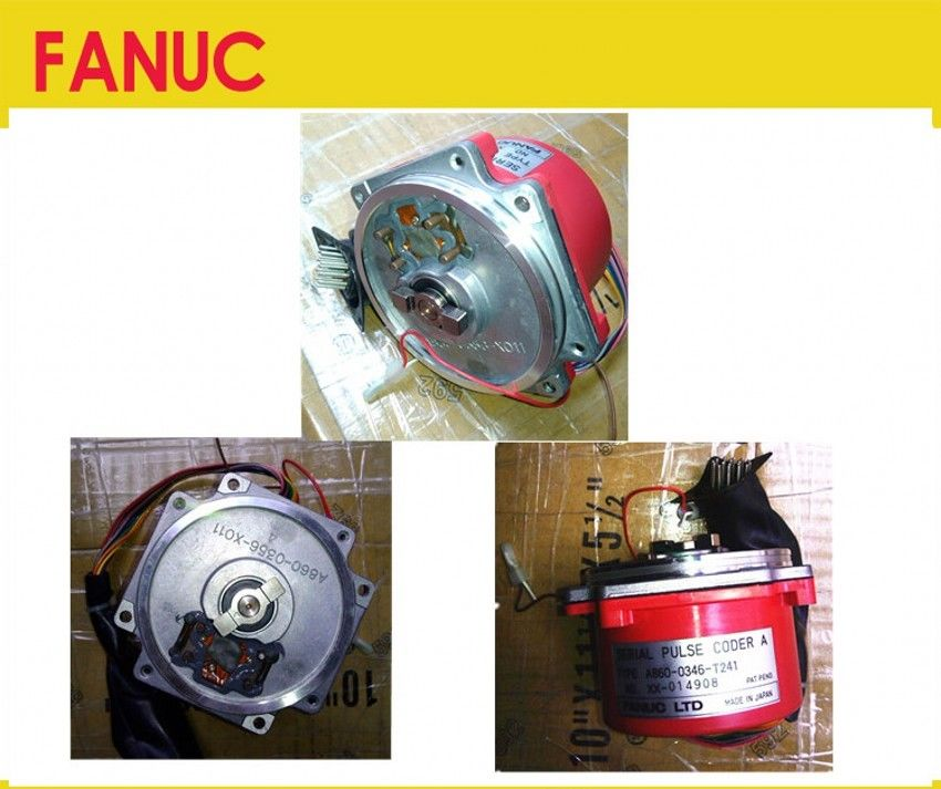 Free DHL 95% NEW 100% TESTED FANUC ENCODER A860-0346-T241 90days warranty !