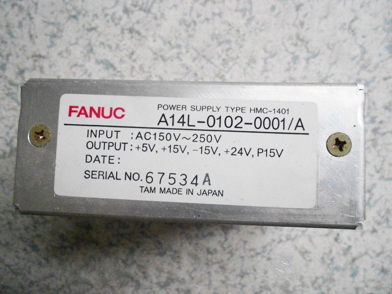 USED 100% TESTED A14L-0102-0001 FANUC A14L-0102-0001