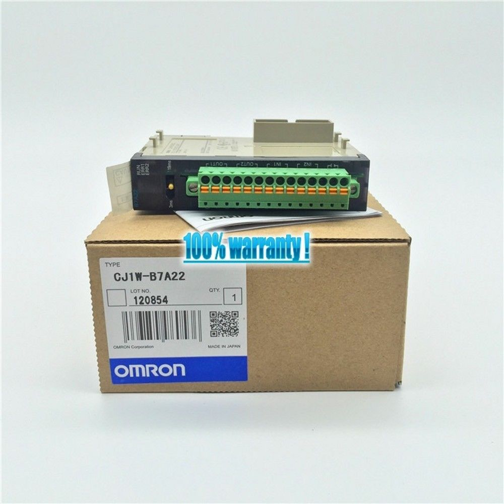 100% NEW OMRON MODULE CJ1W-B7A22 IN BOX CJ1WB7A22