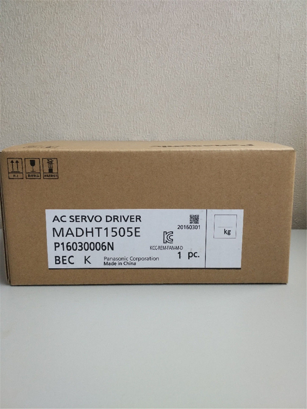 100% NEW PANASONIC AC Servo drive MADHT1505E in box
