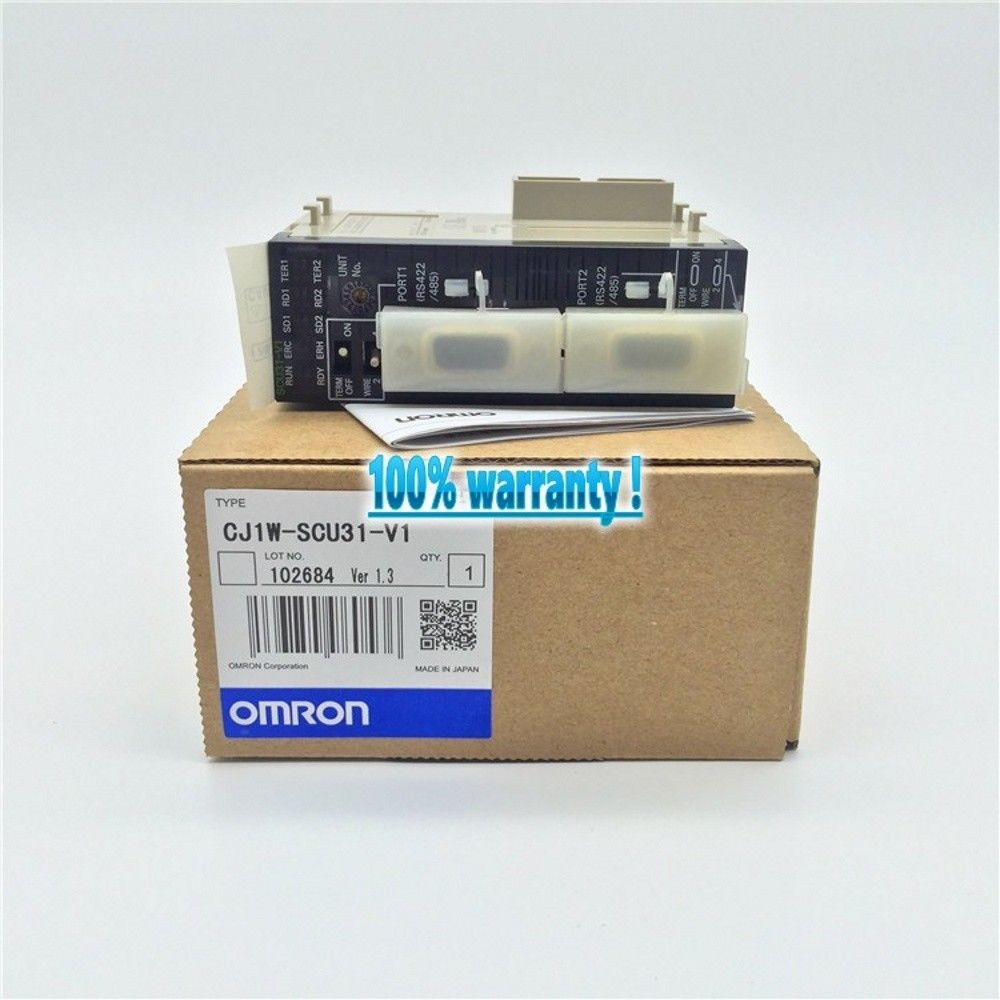 100% NEW OMRON PLC CJ1W-SCU31-V1 IN BOX CJ1W-SCU31V1