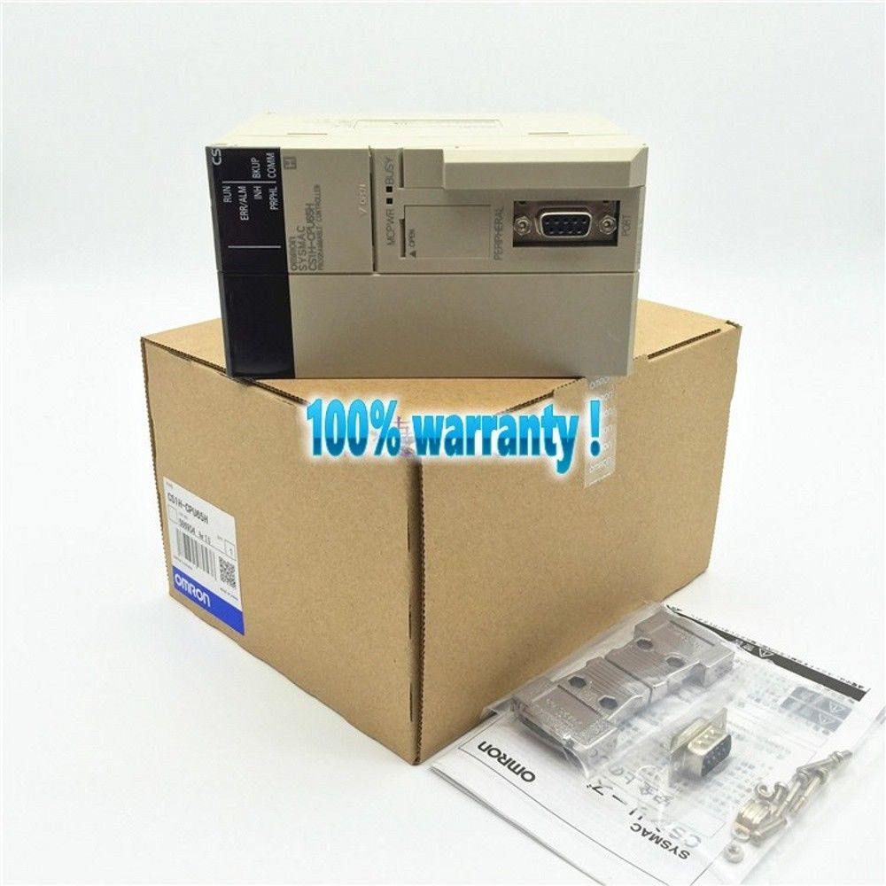 100% NEW OMRON PLC CS1H-CPU65H IN BOX CS1HCPU65H