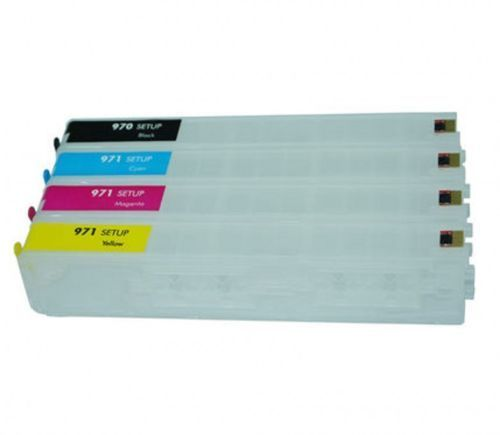 HP970 971 refillable ink cartridge with ARC for HP officejet x451 x476 x551 x576