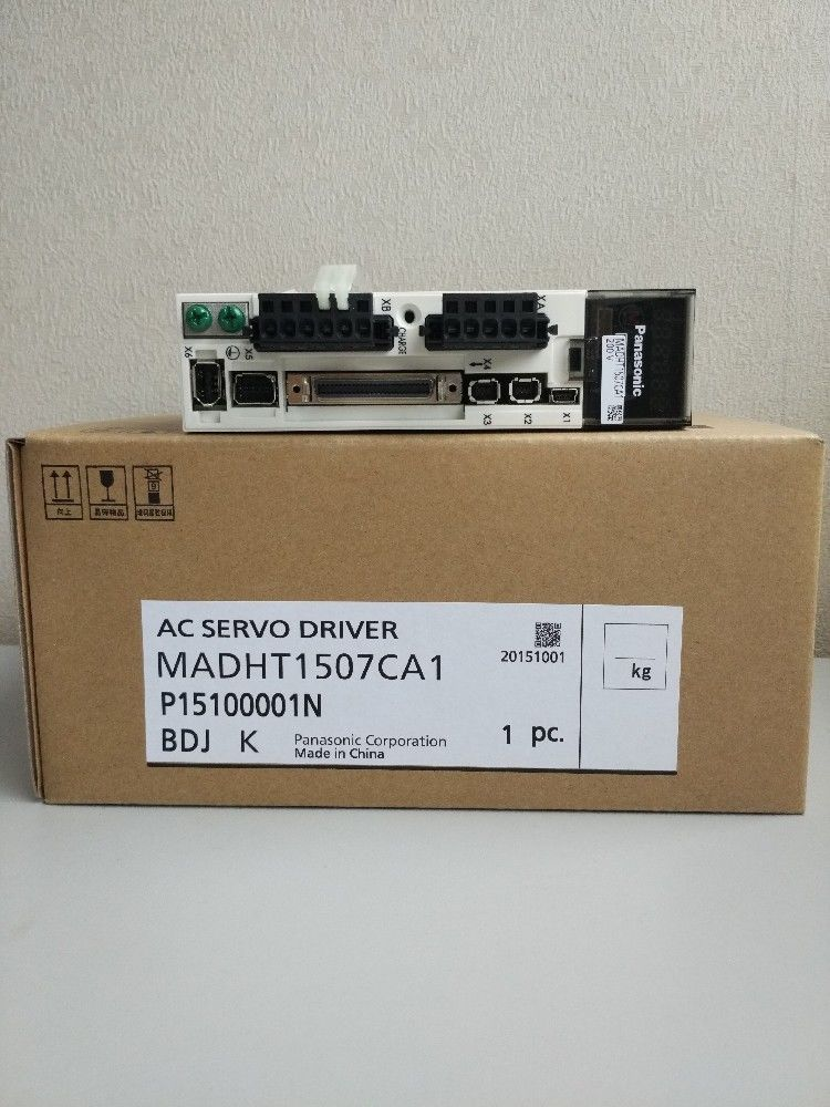 100% NEW PANASONIC AC Servo drive MADHT1507CA1 in box