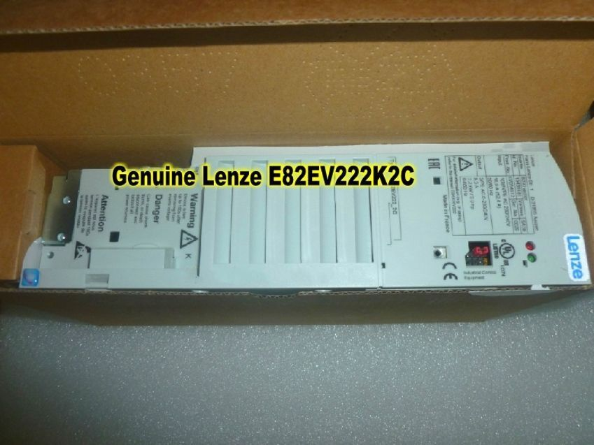 Free shipping Genuine Lenze INVERTER E82EV222K2C E82EV222_2C 2.2KW 230VAC in box