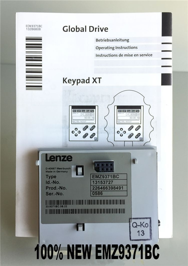 Free shipping Genuine Lenze EMZ9371BC Operator Panel in new box