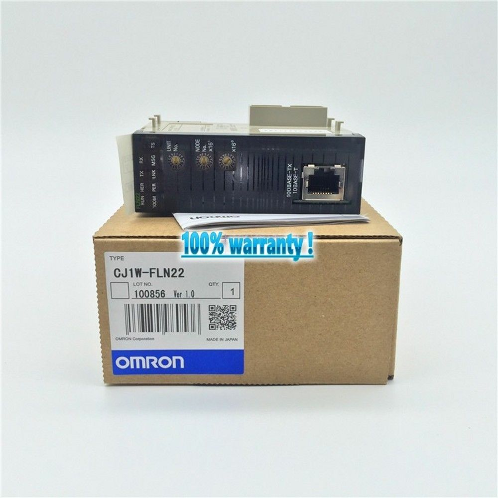 100% NEW OMRON PLC CJ1W-FLN22 IN BOX CJ1WFLN22