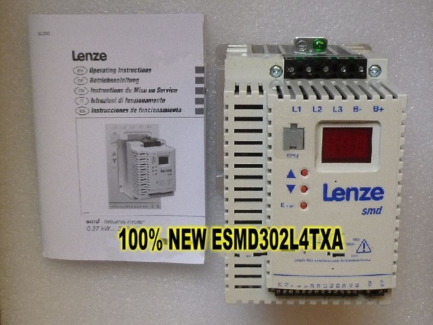 Genuine Lenze SMD Inverter 3KW ESMD302L4TXA 3/PE AC in new box