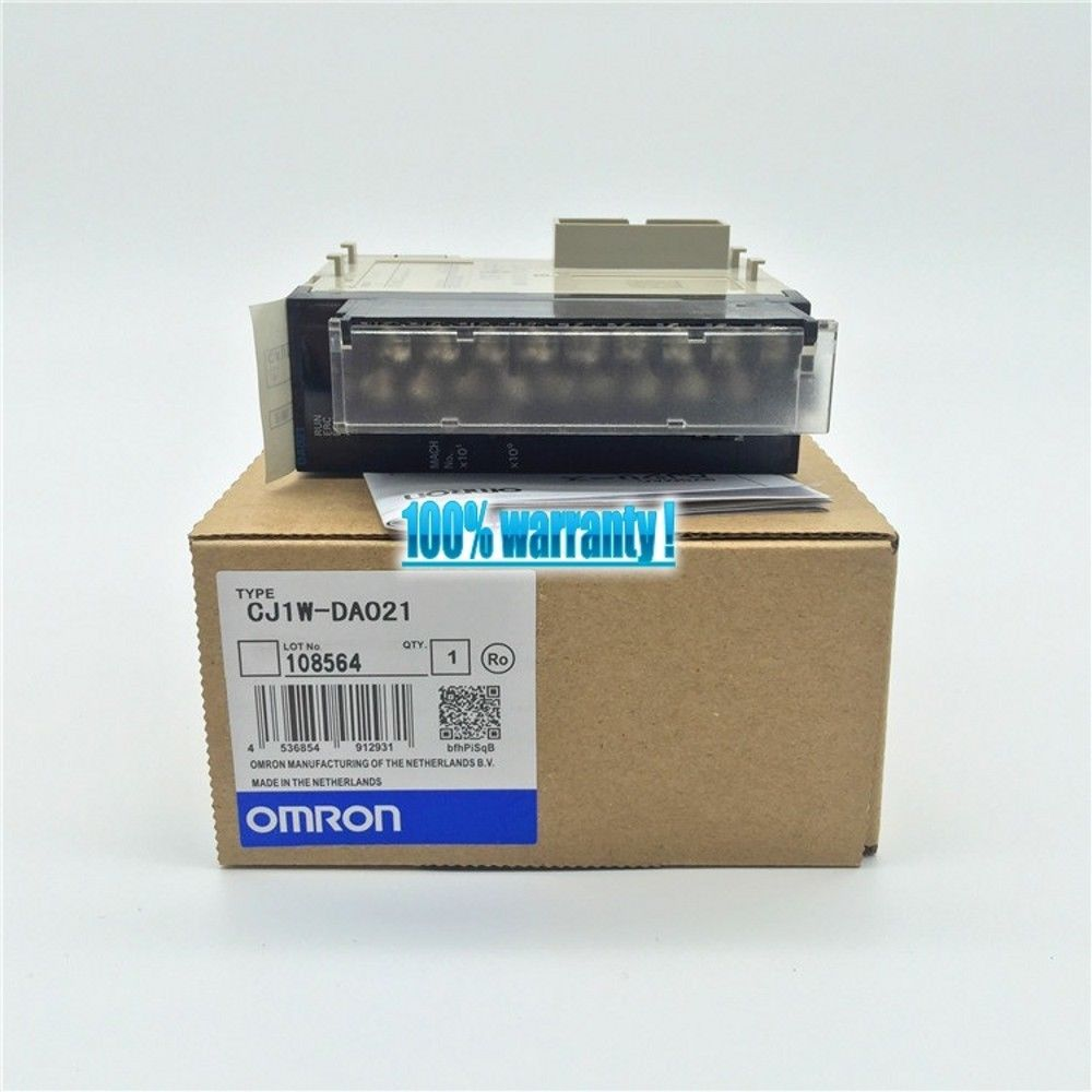 100% NEW OMRON MODULE CJ1W-DA021 IN BOX CJ1WDA021