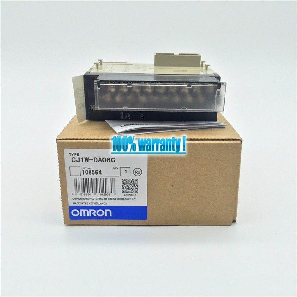 BRAND NEW OMRON MODULE CJ1W-DA08C IN BOX CJ1WDA08C