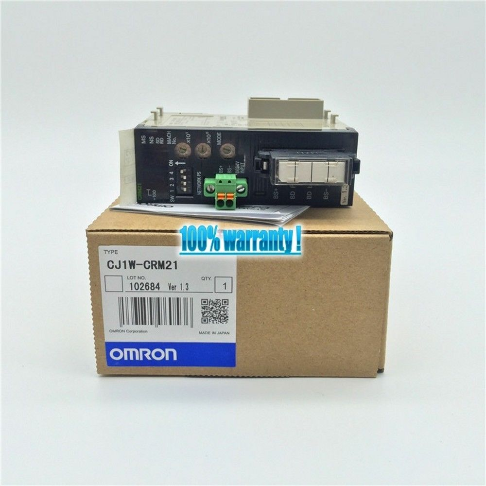 100% NEW OMRON MODULE CJ1W-CRM21 IN BOX CJ1WCRM21