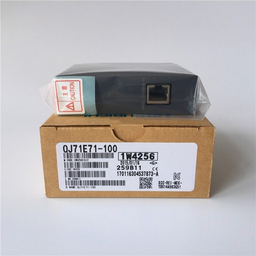 NEW MITSUBISHI PLC Module QJ71E71-100 IN BOX QJ71E71100