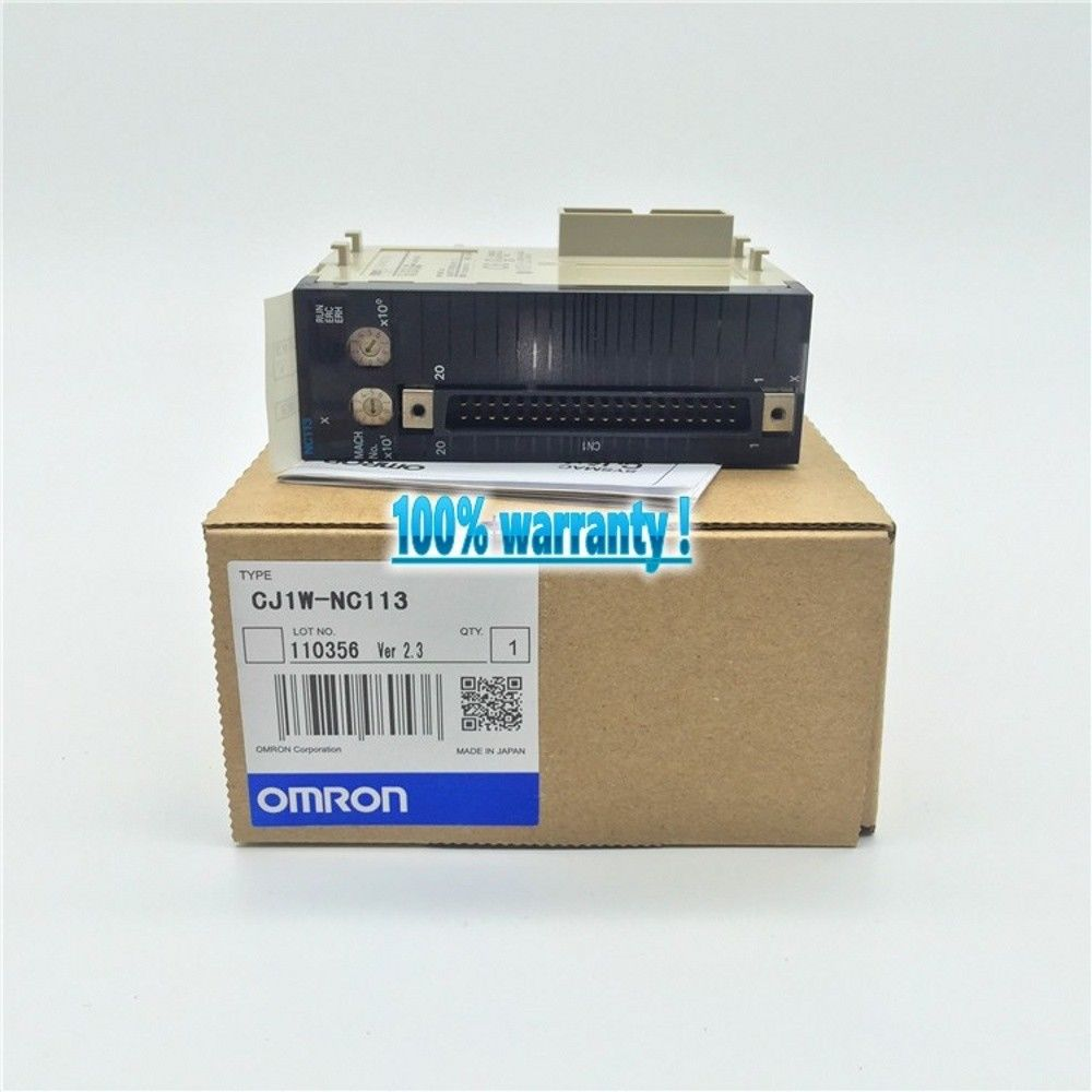 100% NEW OMRON PLC CJ1W-NC113 IN BOX CJ1WNC113