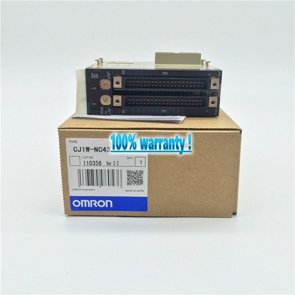 100% NEW OMRON PLC CJ1W-NC433 IN BOX CJ1WNC433
