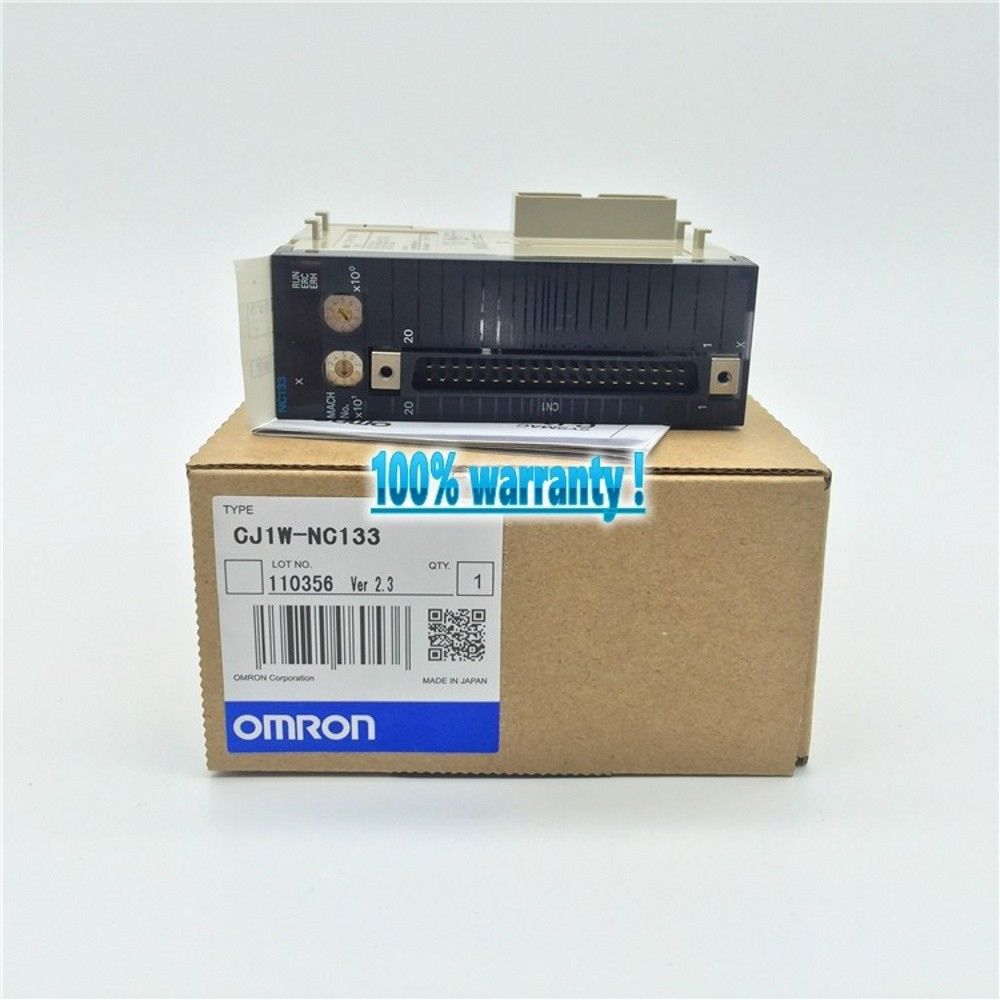 100% NEW OMRON PLC CJ1W-NC133 IN BOX CJ1WNC133