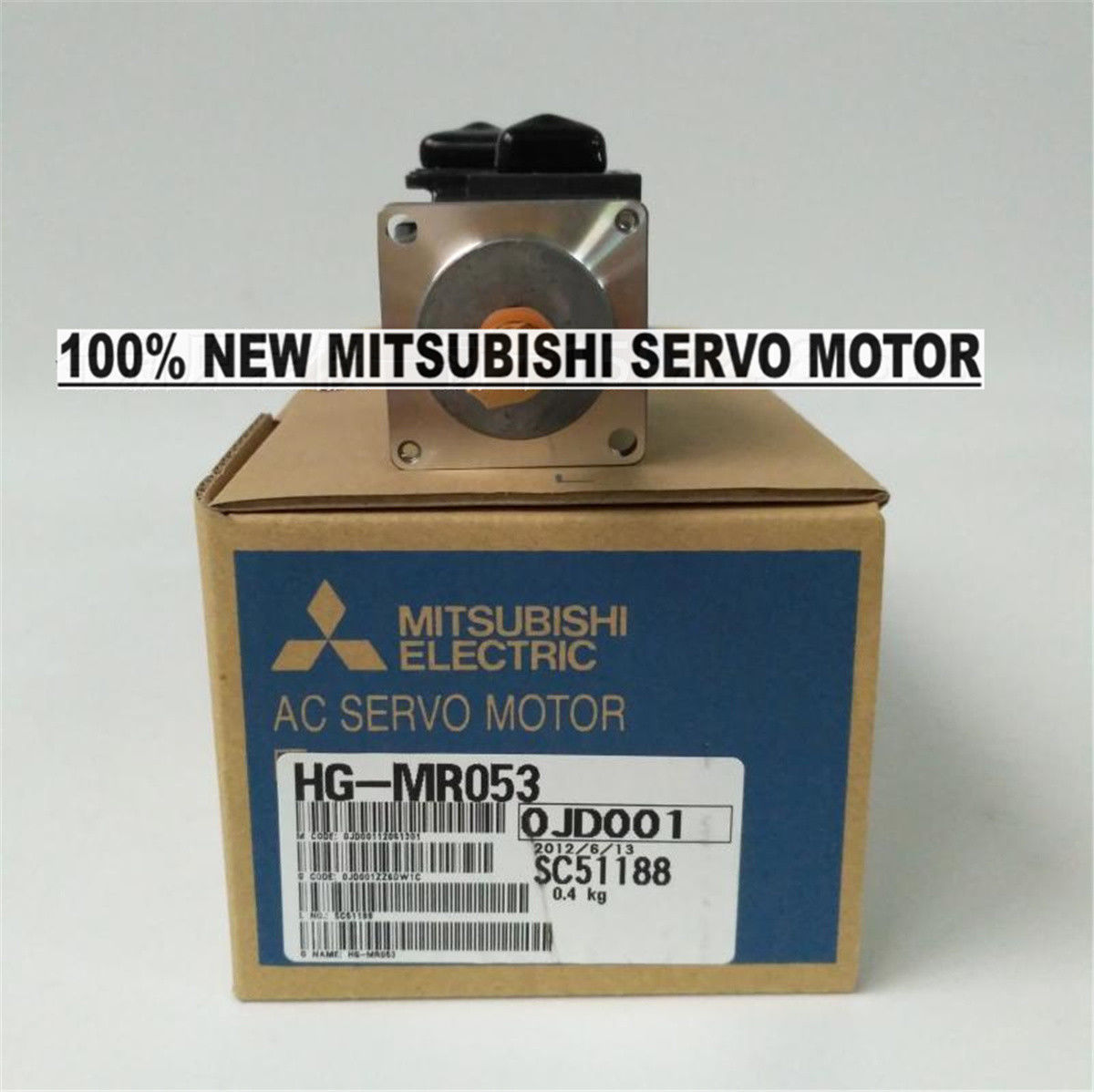 Brand NEW Mitsubishi Servo Motor HG-MR053 in box HGMR053