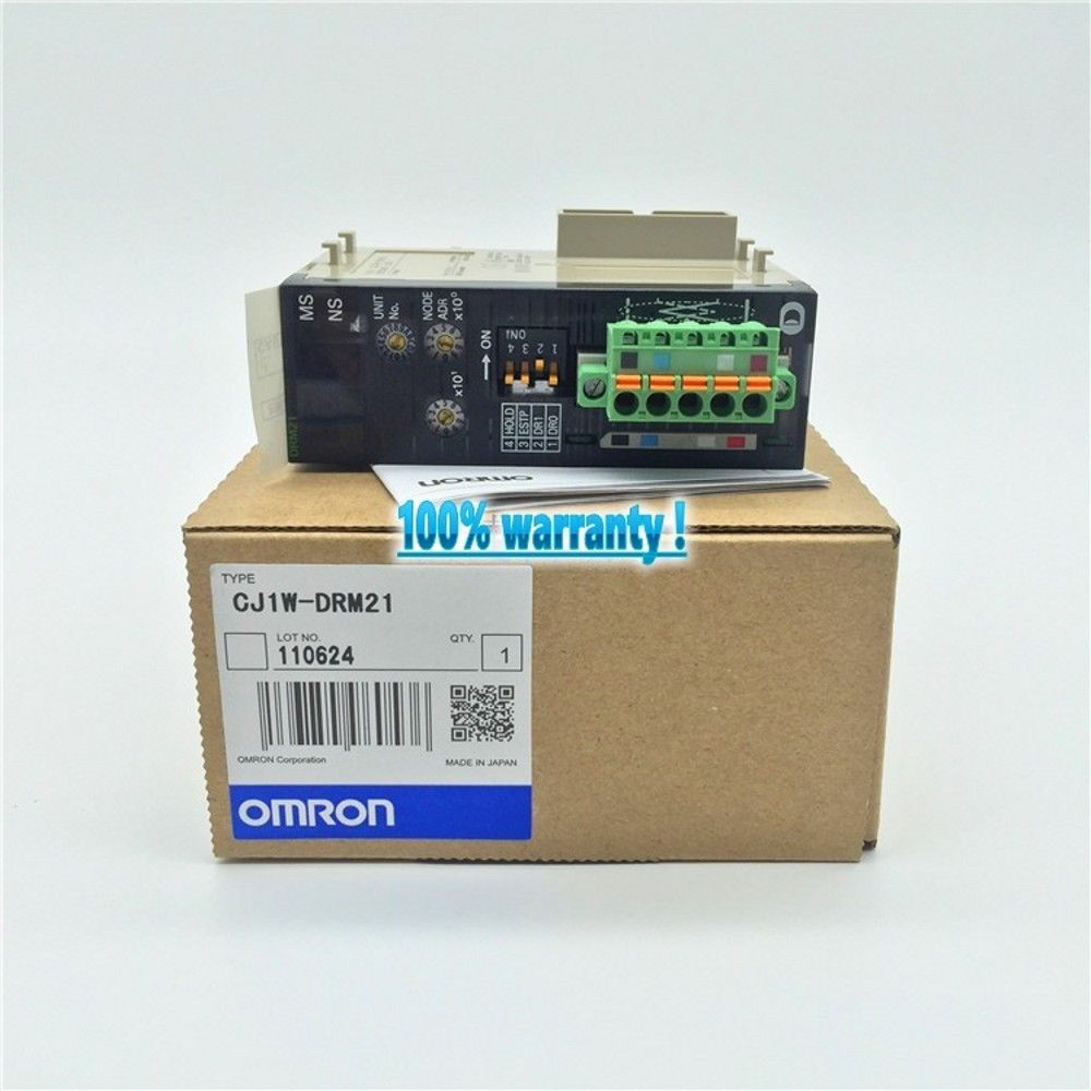 100% NEW OMRON PLC CJ1W-DRM21 IN BOX CJ1WDRM21