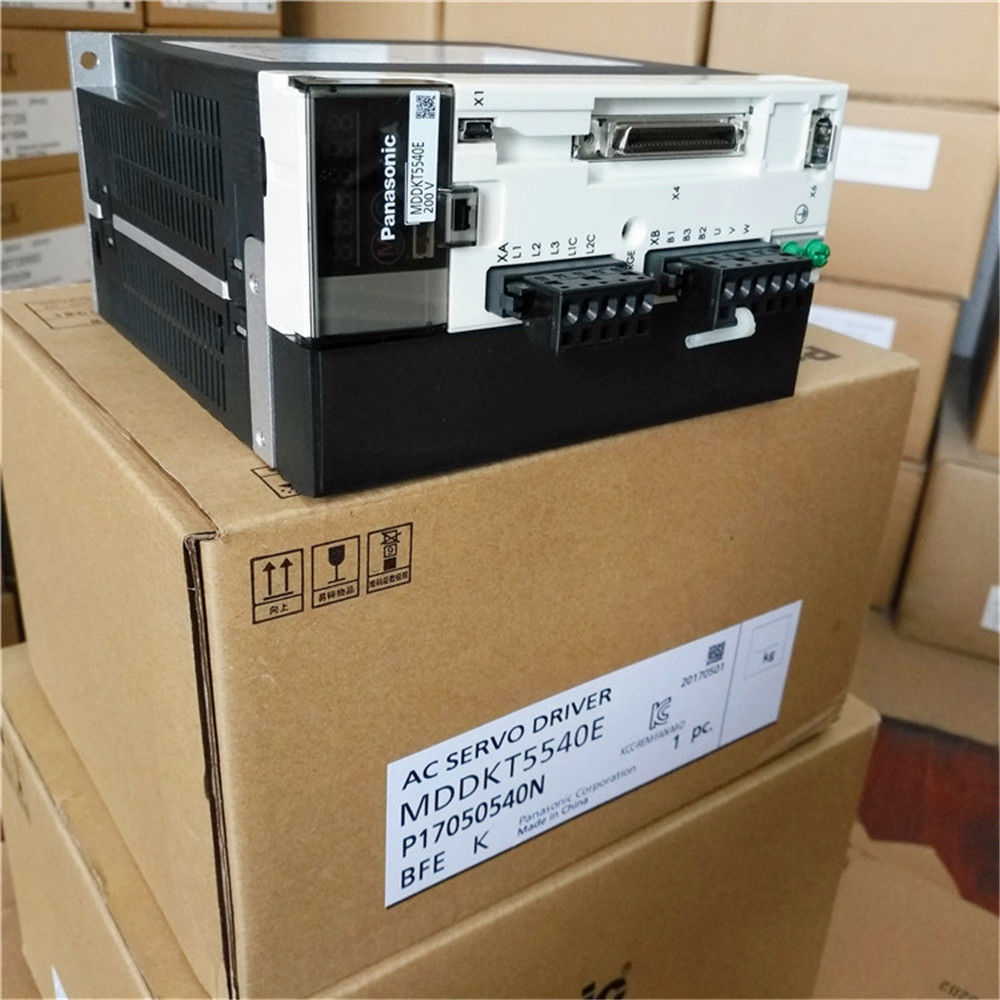 100% NEW PANASONIC AC Servo drive MDDKT5540E in box (real picture)