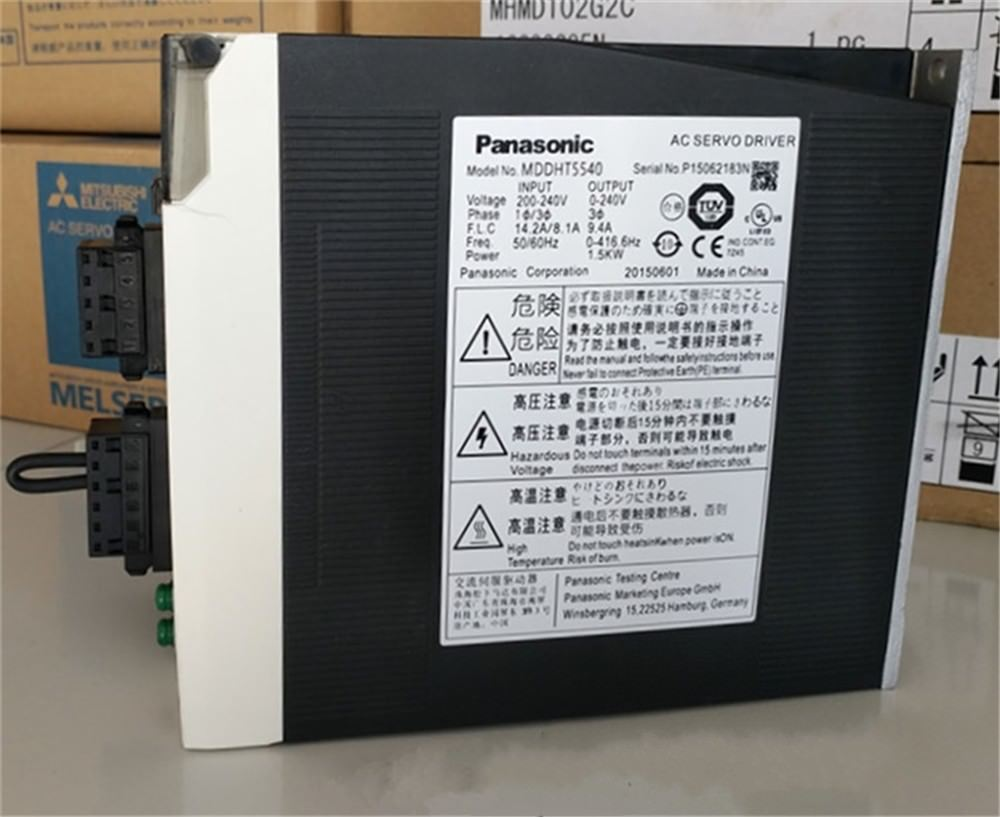 100% NEW PANASONIC AC Servo drive MDDHT5540 in box