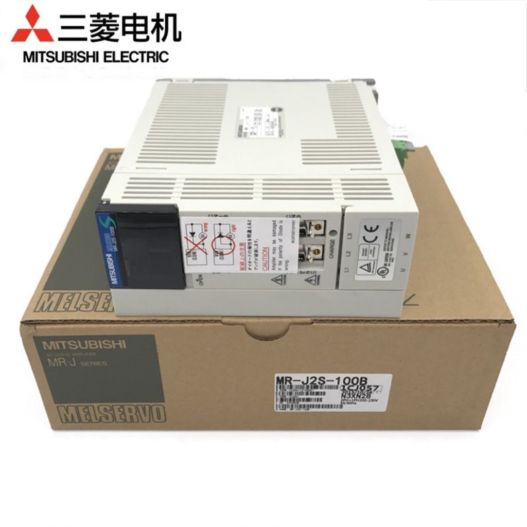 Brand New Mitsubishi Servo Drive MR-J2S-100B In Box MRJ2S100B